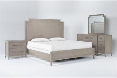 Westridge Eastern King 4 Piece Bedroom Set By Drew & Jonathan for Living Spaces