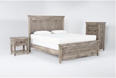Landon California King 3 Piece Bedroom Set