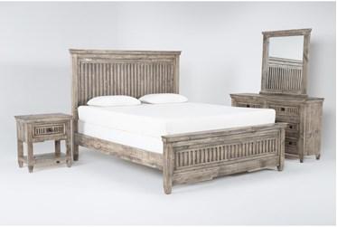 Landon California King 4 Piece Bedroom Set